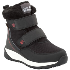 Jack Wolfskin Polar Wolf Texapore VC Chaussures Enfant, black/white